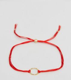 Позолоченный браслет с цепочкой Dogeared Karma - Золотой