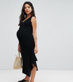 Вязаное платье ASOS Maternity - Черный