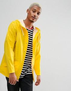 Желтая укороченная непромокаемая куртка Rains - Желтый
