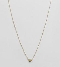 Золотистое ожерелье с подвеской Aetherston - Золотой