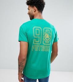 Зеленая футболка с принтом Jacamo TALL - Зеленый