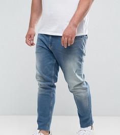 Джинсы слим в винтажном стиле ASOS PLUS - Синий