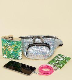 Эксклюзивная фестивальная сумка-кошелек на пояс Skinnydip - Мульти