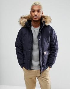 Куртка с контрастными вставками Carhartt WIP - Темно-синий