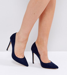 Туфли-лодочки для широкой стопы Faith Chloe - Темно-синий