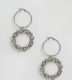 Серьги-кольца Regal Rose Virginia - Серебряный