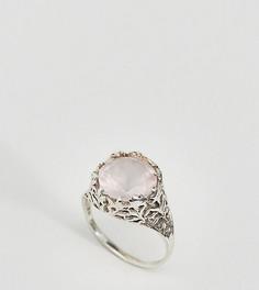 Серебряное кольцо с кварцем Regal Rose - Серебряный