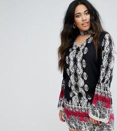 Платье-туника Diya - Мульти