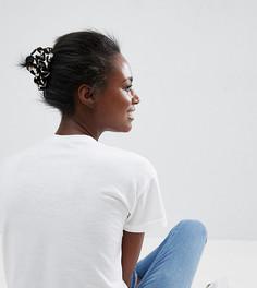 Набор из 2 резинок для волос (однотонный/с принтом) ASOS Made In Kenya - Мульти