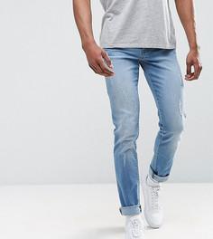 Узкие джинсы с рваной отделкой Loyalty and Faith TALL - Синий