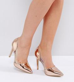 Купить женские туфли на высоком каблуке (шпильке) прозрачные в ... f2189be64a09e