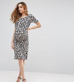 Платье для беременных с присборенной отделкой Isabella Oliver Ida - Мульти