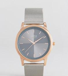 Серебристые часы с сетчатым ремешком Limit эксклюзивно для ASOS - Серебряный
