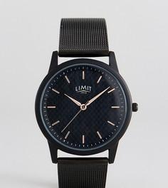 Черные часы из углеродного волокна с браслетом Limit эксклюзивно для ASOS - Черный