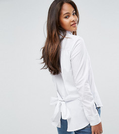 Рубашка с поясом на спине ADPT Tall - Белый