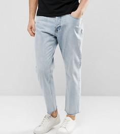 Синие рваные джинсы в стиле 90-х Cheap Monday - Синий