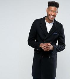 Оверсайз-пальто с добавлением шерсти Gianni Feraud TALL Premium - Черный