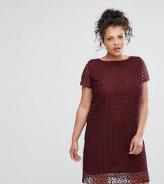 Кружевное платье Elvi - Красный