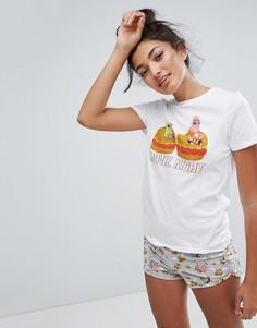Пижамный комплект Undiz Candyfornia - Белый