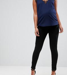 Черные джинсы с посадкой под животом ASOS MATERNITY SCULPT ME - Черный