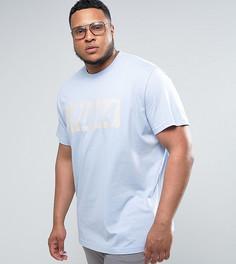 Голубая футболка в винтажном стиле Puma PLUS Speed эксклюзивно для ASOS - Синий