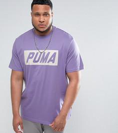 Фиолетовая футболка в винтажном стиле Puma PLUS Speed эксклюзивно для ASOS - Фиолетовый