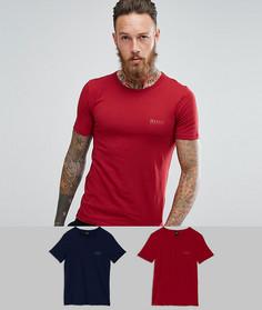 2 футболки узкого кроя BOSS By Hugo Boss - Мульти