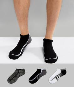 Набор из 3 пар низких спортивных носков Calvin Klein Performance - Мульти