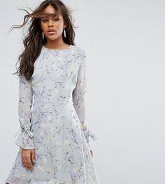 Платье с цветочным принтом Glamorous Tall - Мульти