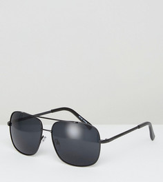 Солнцезащитные очки-авиаторы Reclaimed Vintage - Черный