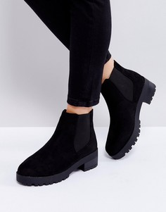 Ботинки челси на массивной подошве Truffle Collection - Черный