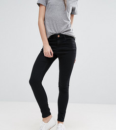 Черные джинсы скинни ASOS PETITE RIDLEY - Черный