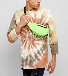 Зеленая сумка-кошелек на пояс Reclaimed Vintage Inspired - Зеленый
