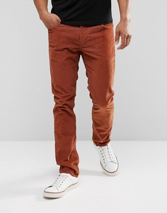Узкие вельветовые джинсы насыщенного коричневого цвета Levis 511 - Коричневый Levis®