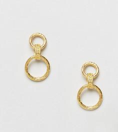 Серьги-кольца Ottoman Hands - Золотой