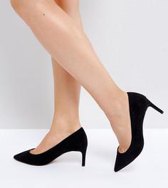 Туфли на каблуке для широкой стопы ASOS SOULFUL - Черный
