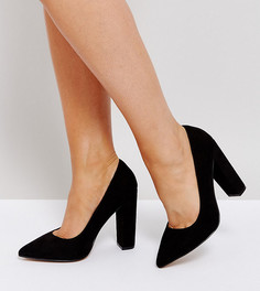 Туфли на высоком каблуке для широкой стопы ASOS PHANTOM - Черный