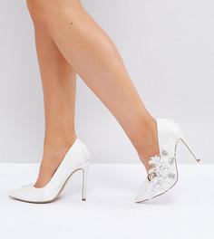 Туфли на высоком каблуке для широкой стопы ASOS PAVLOVA - Белый