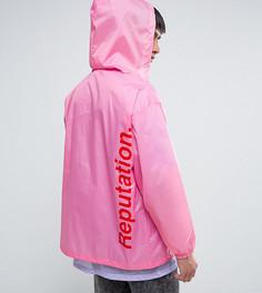 Розовая неоновая ветровка в стиле ретро Reclaimed Vintage Inspired - Розовый
