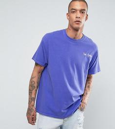 Оверсайз-футболка с вышитой надписью Reclaimed Vintage Inspired - Синий