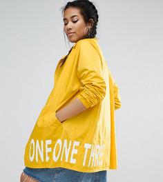 Куртка-дождевик с принтом на подкладке One One Three - Желтый