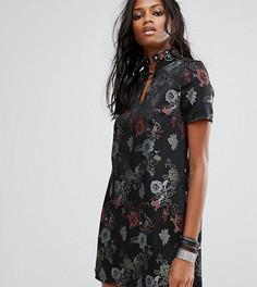 Платье мини с пуговицами Reclaimed Vintage Inspired - Черный
