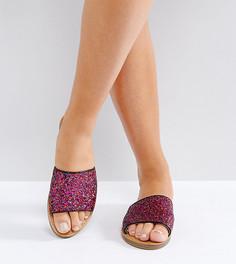 Сандалии для широкой стопы с отделкой New Look - Розовый