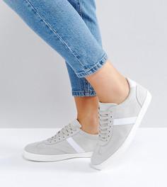 Кроссовки для широкой стопы ASOS DELPHINE - Серый