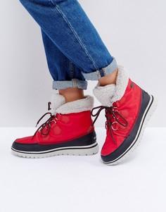 Непромокаемые ботинки Sorel Cozy - Красный