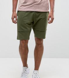 Трикотажные шорты с декоративными швами Brooklyn Supply Co - Зеленый