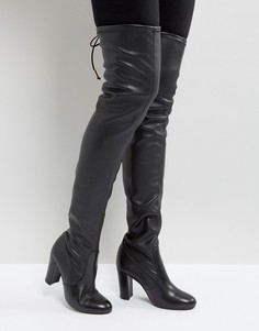 Кожаные ботфорты Dune Sybil - Черный