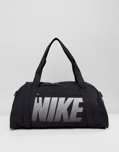Черная дорожная сумка Nike - Черный
