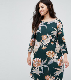 Платье с цветочным принтом Junarose - Мульти