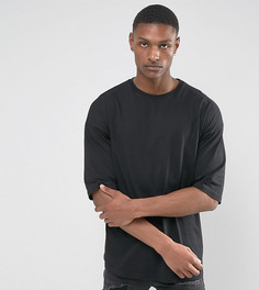 Черная оверсайз-футболка ASOS TALL - Черный